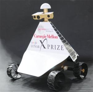 Prototype Red Rover by Team AstroboticSource: Astrobotic Technology Inc.