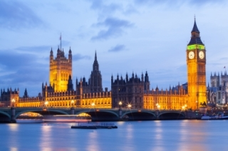 Big Ben and Westminster Bridge London photo