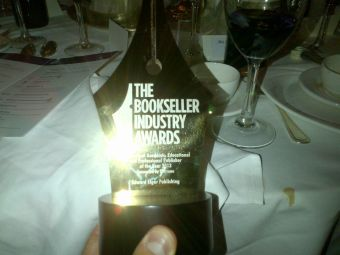 Bookseller Industry Award for Independent, Academic, Educational and Professional Publisher of the Year