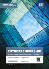 Edward Elgar Publishing entrepreneurship catalogue 2014