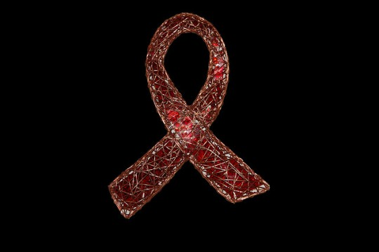 AIDS Ribbon Sculpture prototype