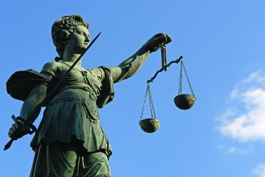 Law Lady Statue