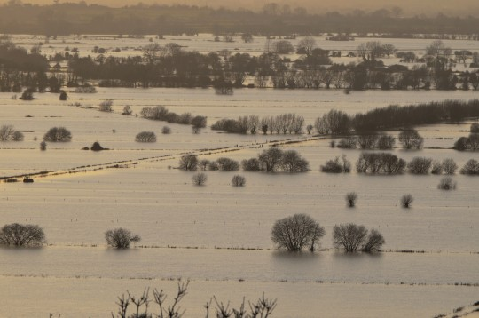 flooding in the Somerset levels